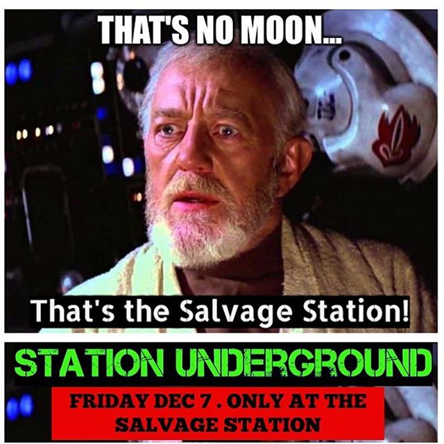 Station Underground starts in about 30 minutes!!!