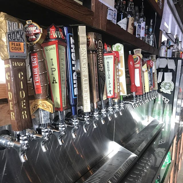 The sun is shining again and we have $3 drafts tonight!!! This is a great afternoon!!!