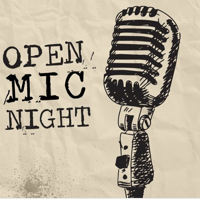 Tonight we have Open Mic starting at 7 pm!!!