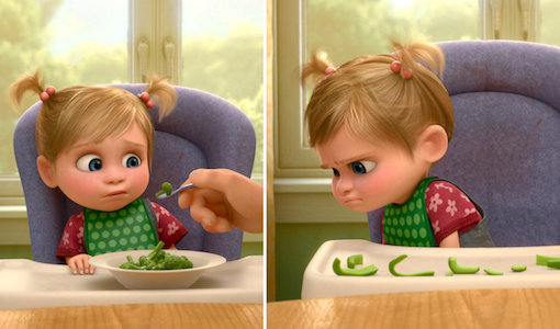European and Japanese localization of  Inside Out . Image courtesy of Disney/Pixar.