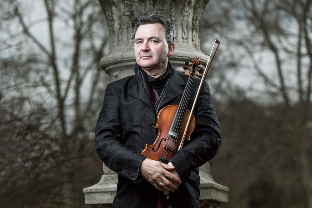 nick pynn with fiddle