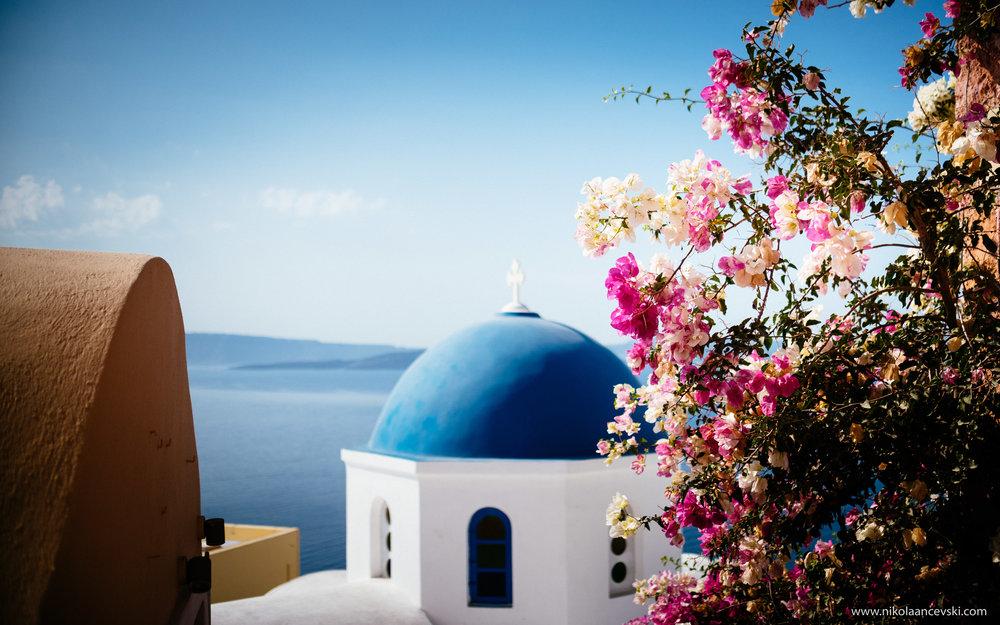 Photoshoot in Santorini -