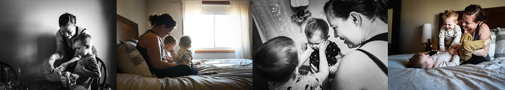 These images are of me and my sons from our own family documentary session, photographed by Rebecca Walsh.