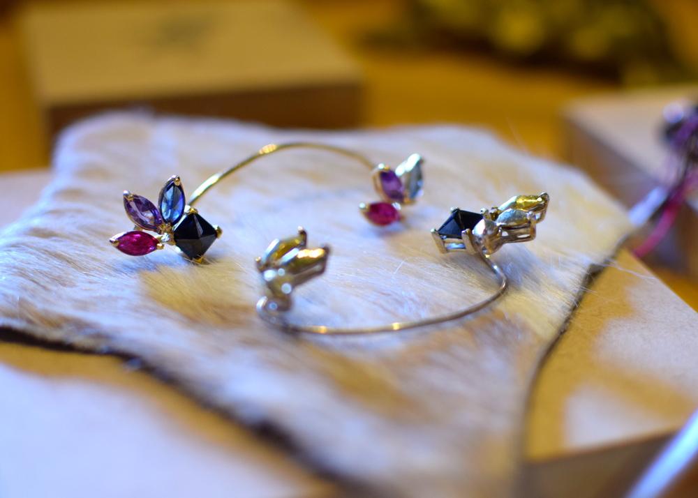 Jeweled Ear Cuff