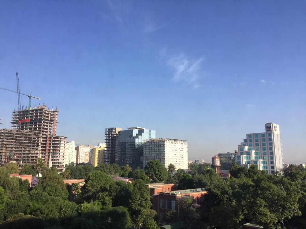 View from my hospital room at Hospital Español // Mexico City, MX