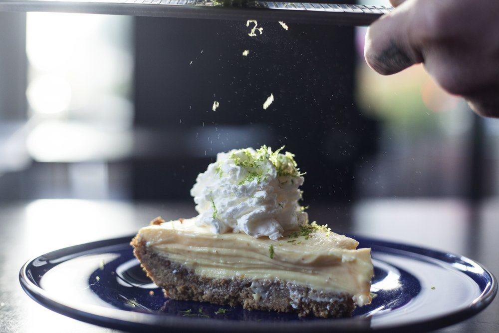 KASSADY'S MAMA'S KEY LIME PIE secret recipe, served with whipped cream (limited availability)