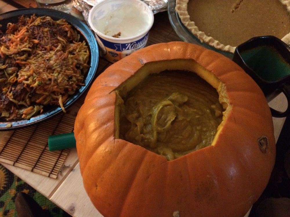 pumpkin soup in a pumpkin.JPG