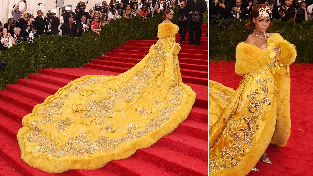 Rihanna en Guo Pei.