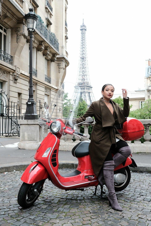 4. Alquila una Moto para recorrer la ciudad. - Si sabes usar una moto, esta es la ciudad para hacerlo.