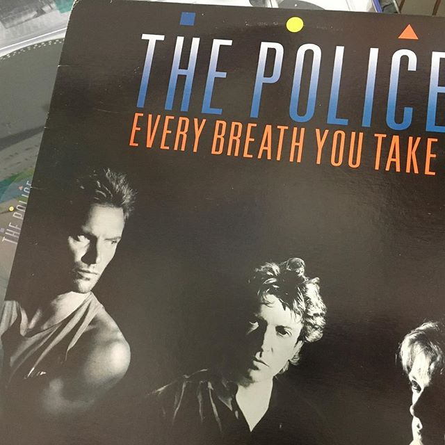 I'm really into The Police at the moment. #thepolice