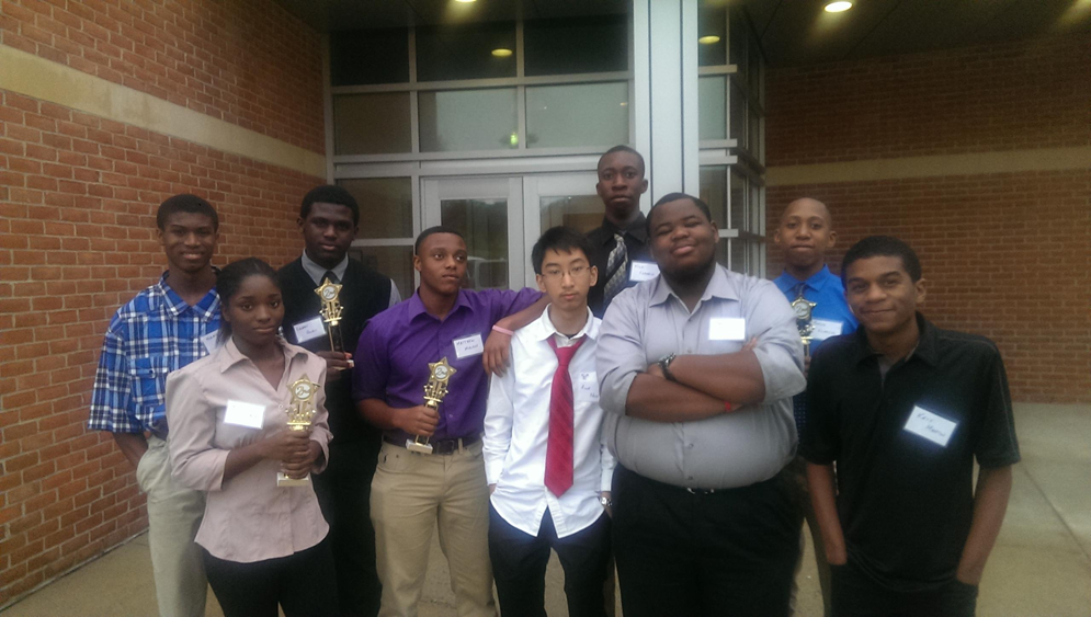 Mid Atlantic Regional High School Computer Competition 2015 - 2nd place winners