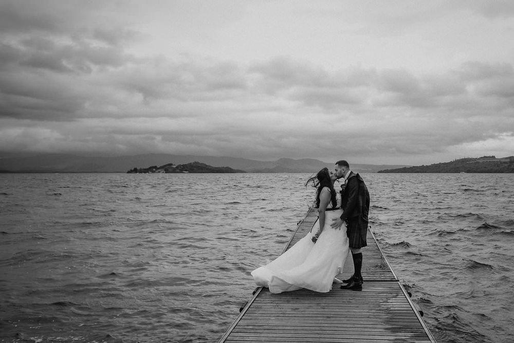 Windswept Portrait on Loch Lomond, image by Doran Photography