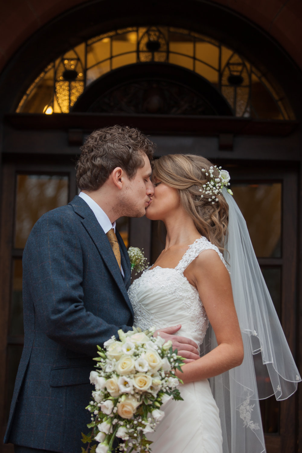 First Kiss, image by Doran Photography
