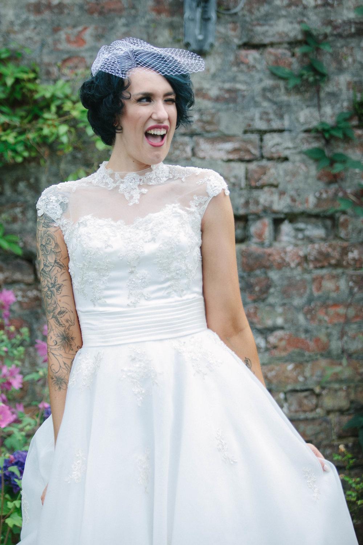 Bridal Portrait, at The Cruin, Loch Lomond, image by doran Photography
