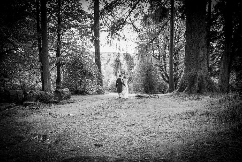 Woodland Walk, Culcruech Castle, by Doran Photography