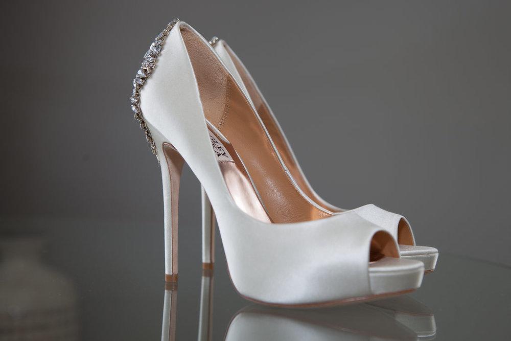 Wedding Shoe Details, image by Doran Photography