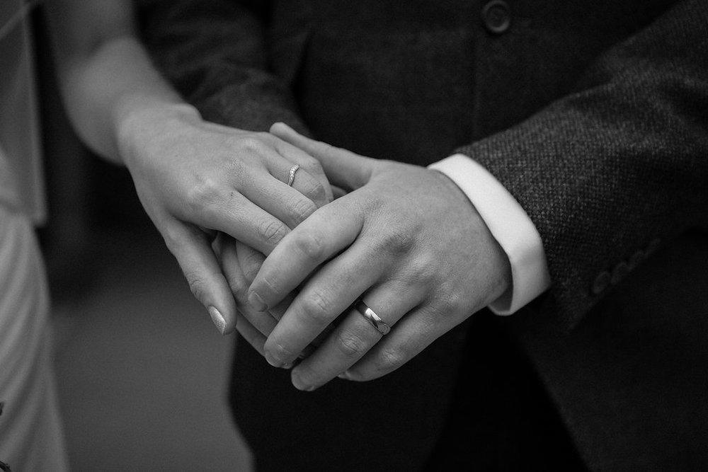 Wedding Ring Shot, by Doran Photography