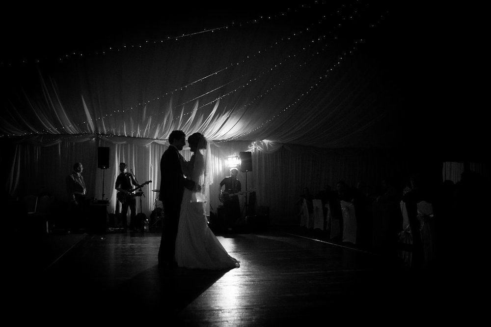 First Dance, at the Carnbooth, by Doran Photography