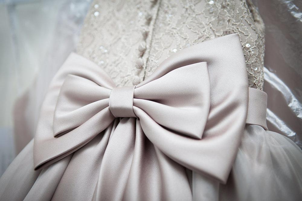 Wedding Dress Detail, by Doran Photography