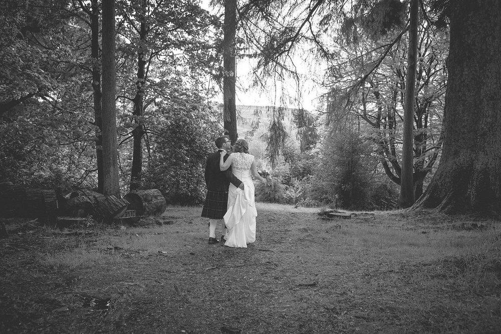 Wedding walking shot, by Doran Photography