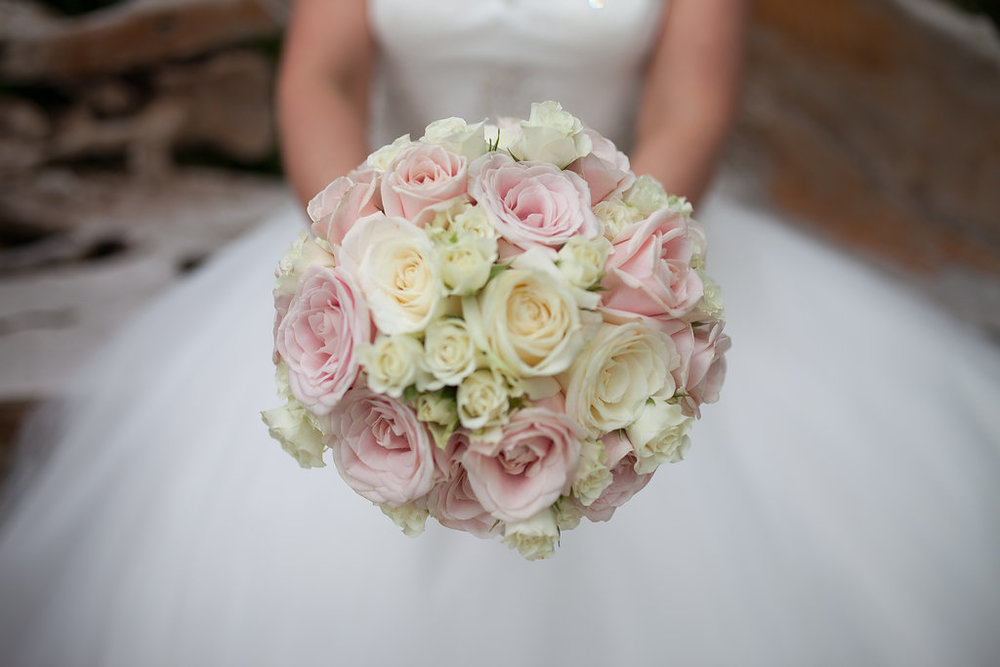 Floral Wedding Bouquet, by Doran Photography