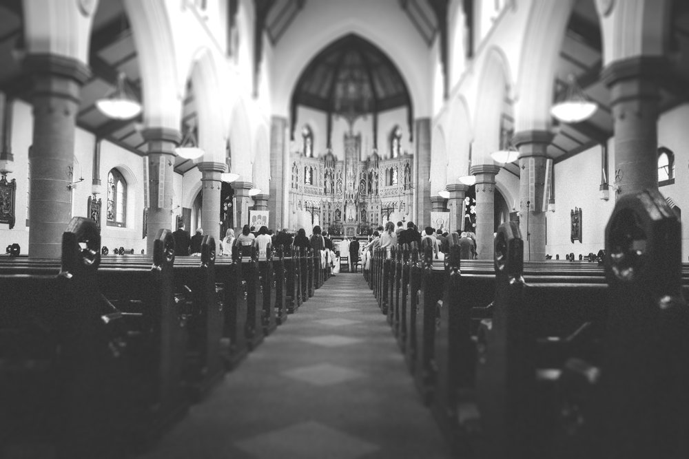 Church Wedding, by Doran Photography