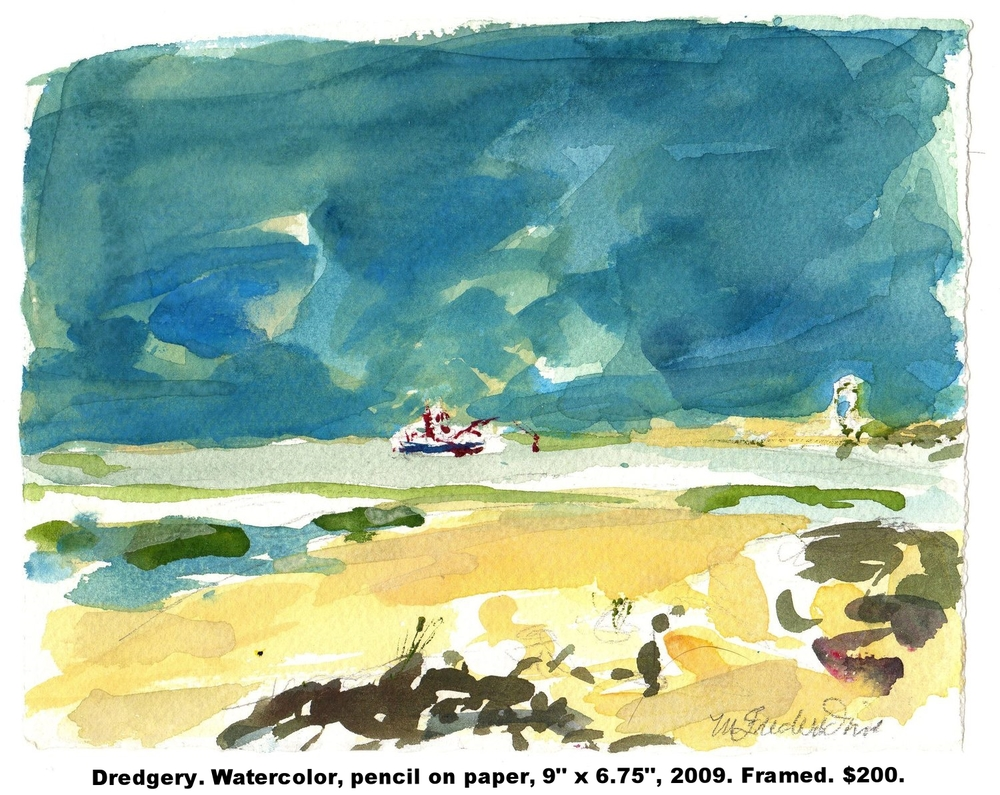 44 Fred Wise Dredgery watercolor and pencil on paper 9 in x 6.75 in 2009.jpg
