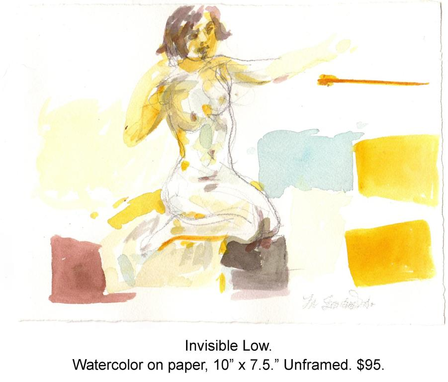 Fred Wise, Invisible Below, watercolor and pencil on paper, 10 x 7.5, 2015.jpg