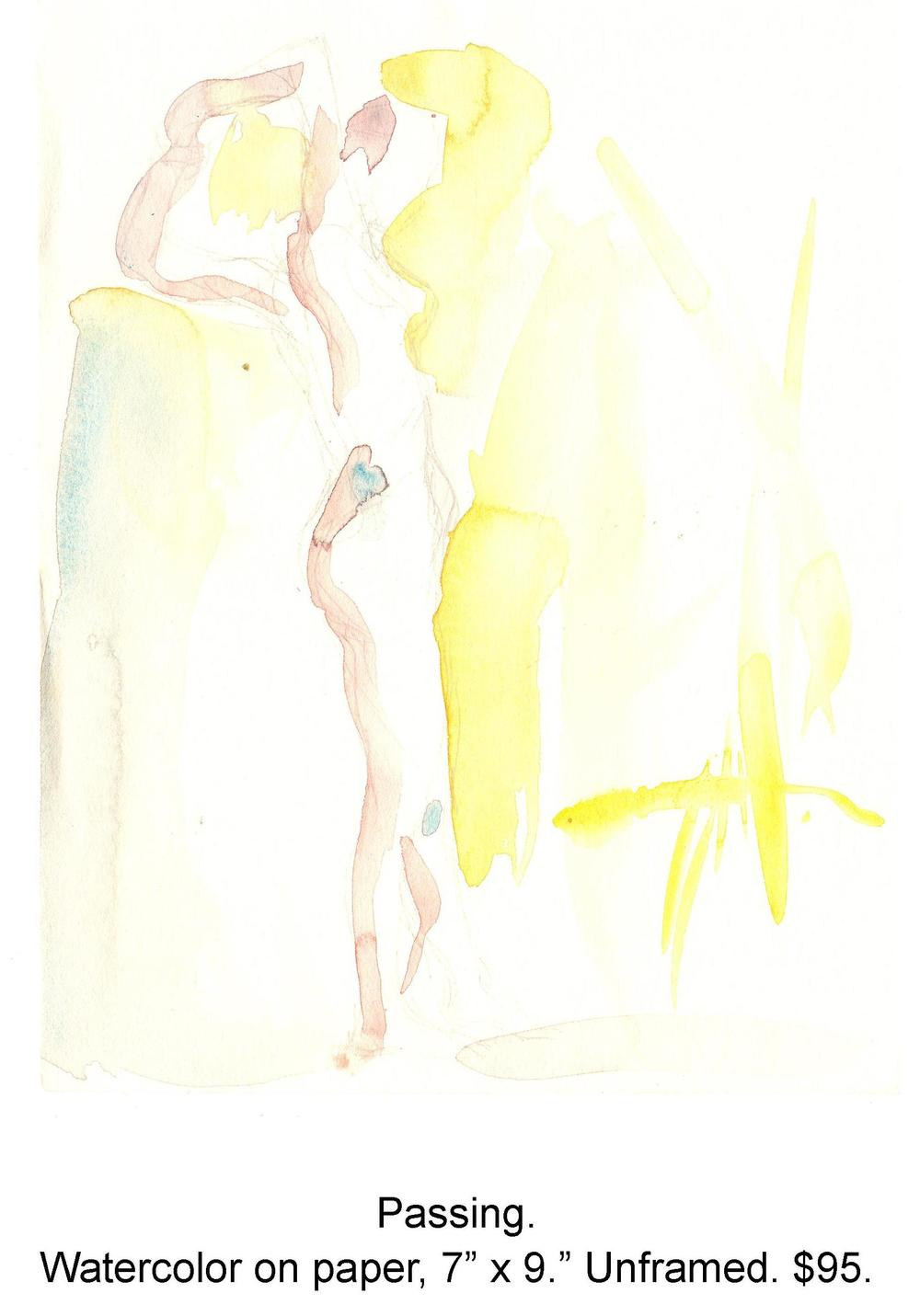 Fred Wise, Passing. Watercolor, pencil on paper, 7 x 9, 2002.jpg