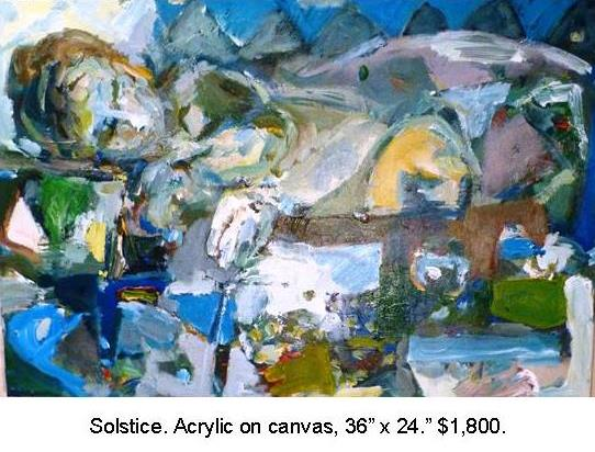 Fred Wise, Solstice, Acrylic on Canvas 36 in x 24 in 2014, $1,500.jpg
