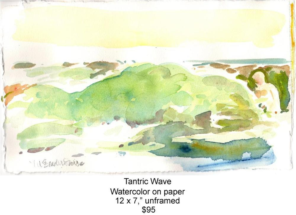 Fred Wise, Tantric Wave. Watercolor, 12 x 7, 2015, web.jpg