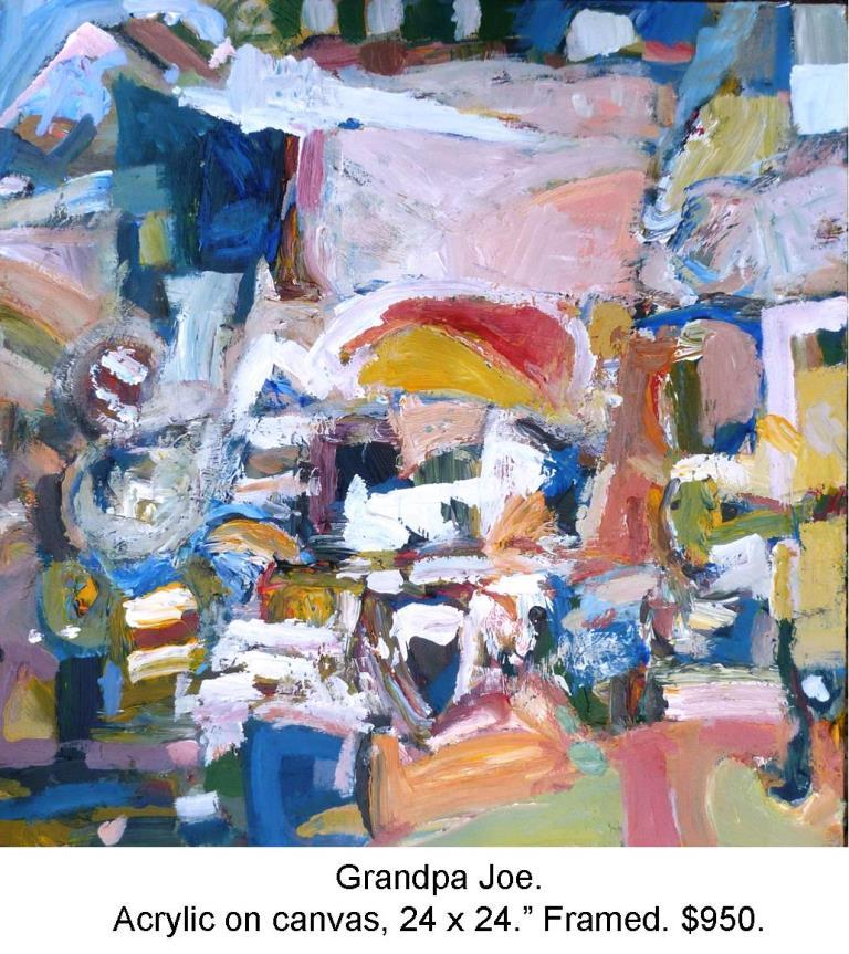 Fred Wise, Grandpa Joe Acrylic on Canvas 24 in x 24 in. 2015 2016 04 19jpg.jpg