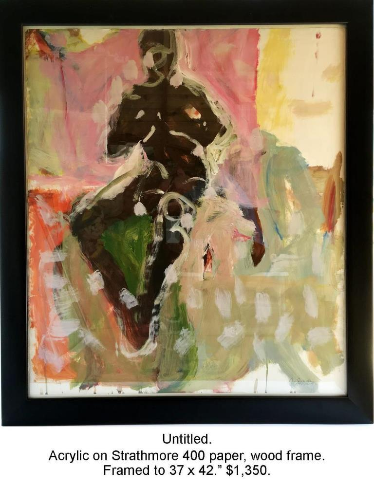 Fred Wise, Night Figure. Acrylic on paper, framed, 2009, 2016 04 19.jpg