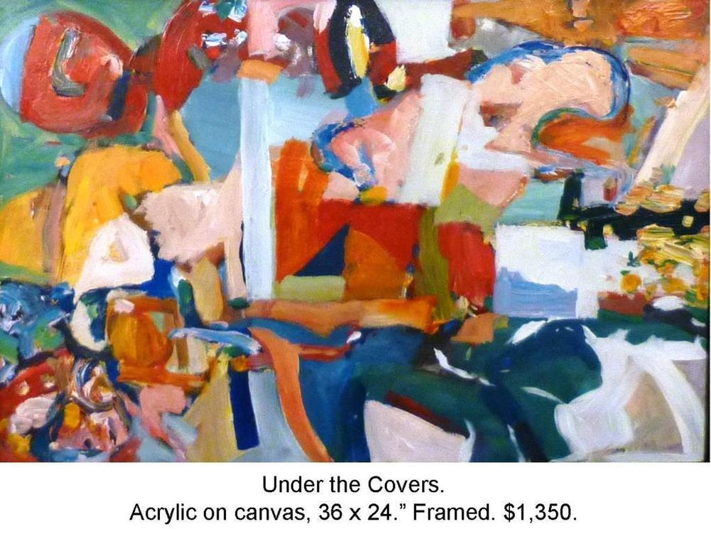 Fred Wise, Under the Covers, acrylic on canvas 36 x 24 2015, framed 2016 04 19.JPG