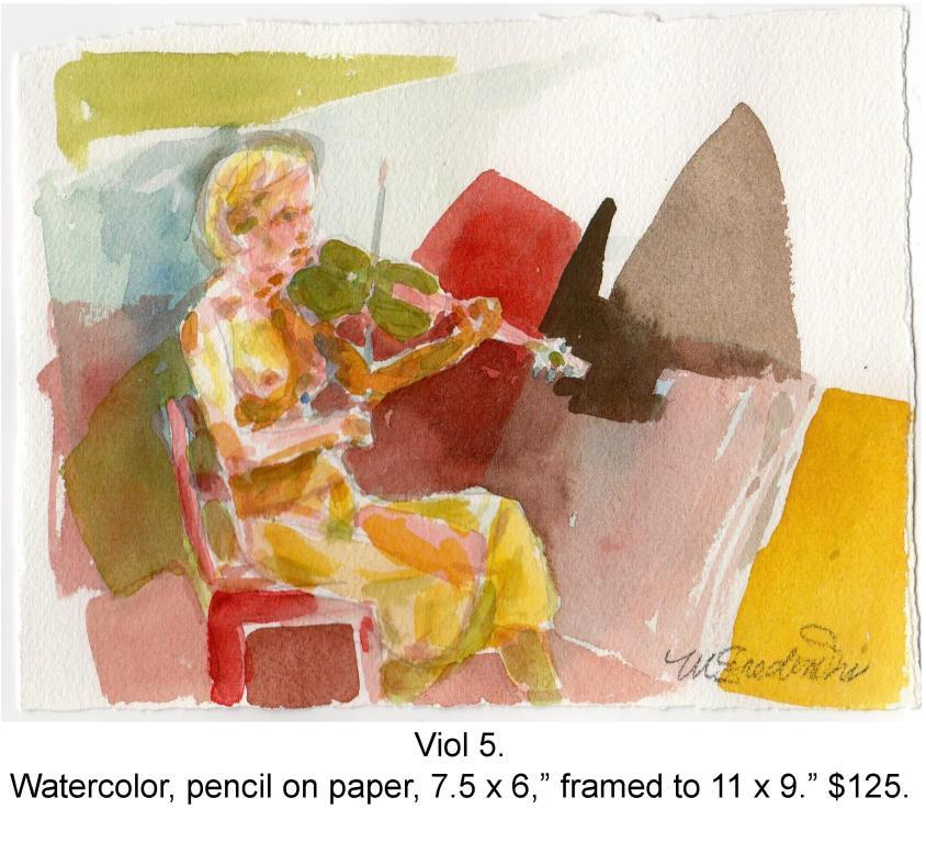 Fred Wise, Viol Five. Watercolor and pencil on paper 7.5 in x 5.75 in 2014, web.jpg
