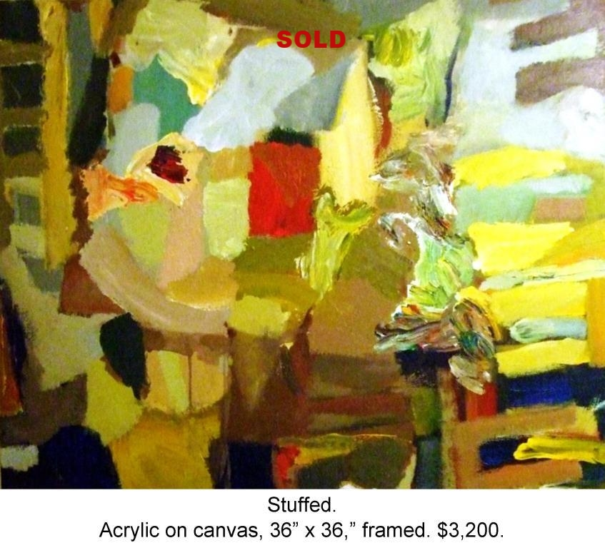 Fred Wise, Stuffed. Acrylic on canvas, 36 x 36, 2008.jpg