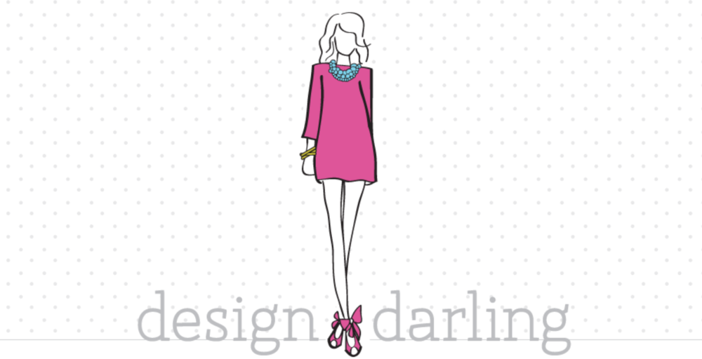 Featured on Design Darling Blog & in an online pop-up shop of my work