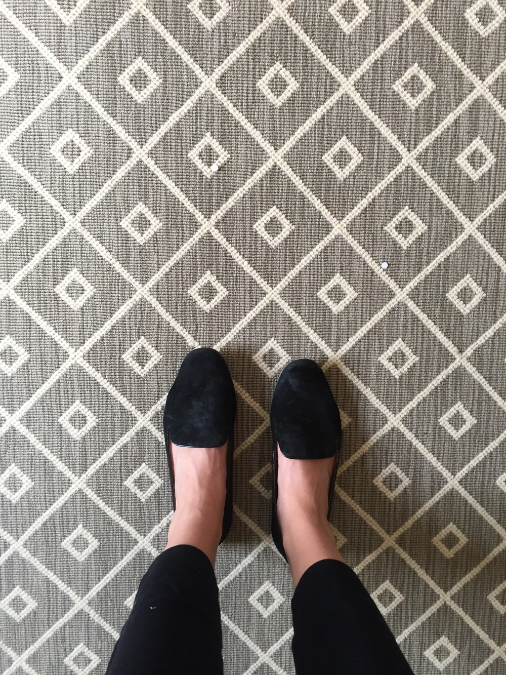 this rug was a game changer in a client's office