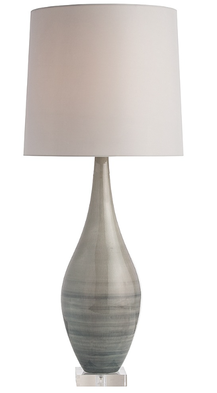 21. $840 love the tones in this glass lamp
