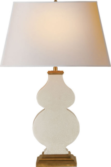26. $588 this is one of my favorite lamps lately.. its like a gourd lamp pancake.. and comes in multiple colors
