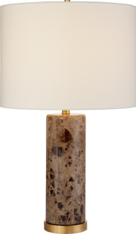 29. $630 this lamp is HEAVY but in a good way and makes a great statement. also fun to introduce marble into a room through a lamp
