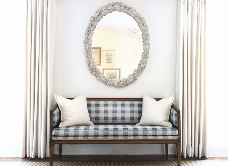 gingham-settee-sofa-oval-mirror-drapes-drapery-cococozy-blue-white-check-seating-andrew-maler.jpg