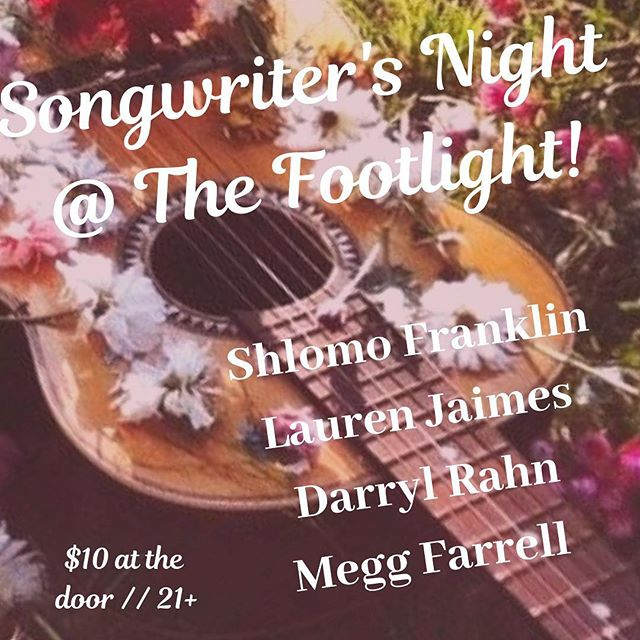 Playing tonight with these badass songwriters! Come out to Queens friends