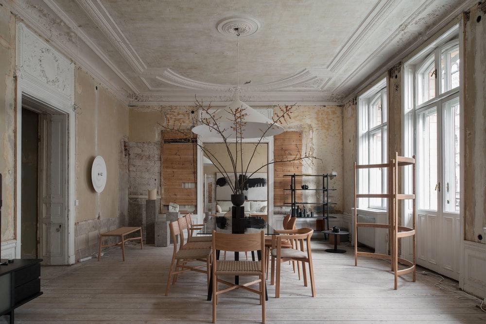A quiet reflection Stockholm design week