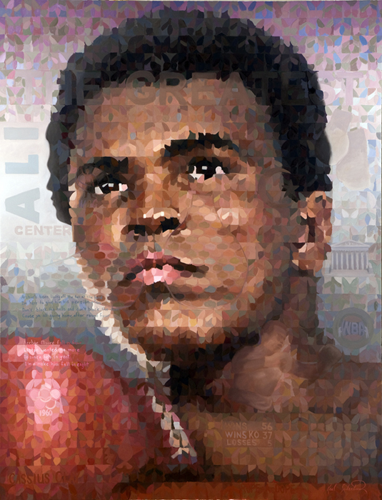 "The Greatest, 67"" x 87"""