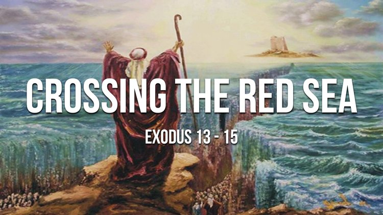 Image result for Moses and the red Sea