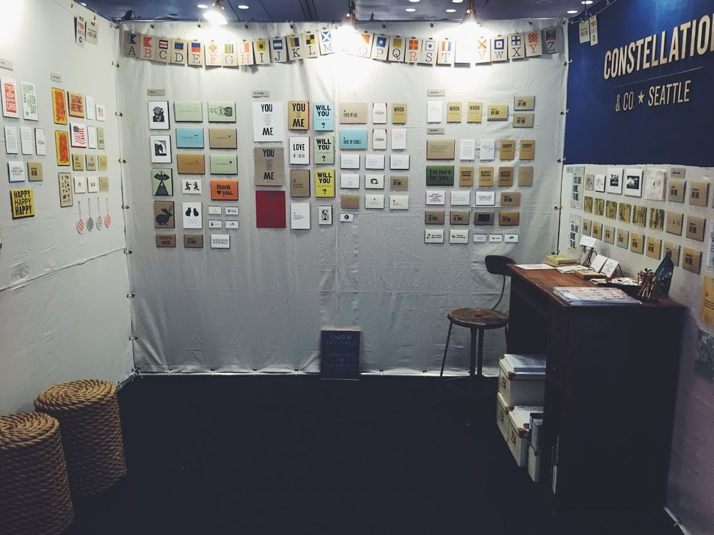 MAY Exhibiting at the National Stationery Show and winning a Best New Product award!