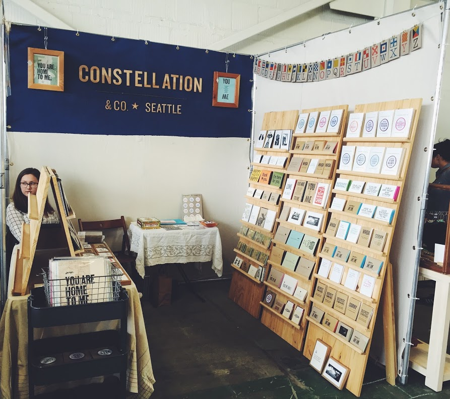 JULY Exhibiting at Renegade Craft Fair in Seattle