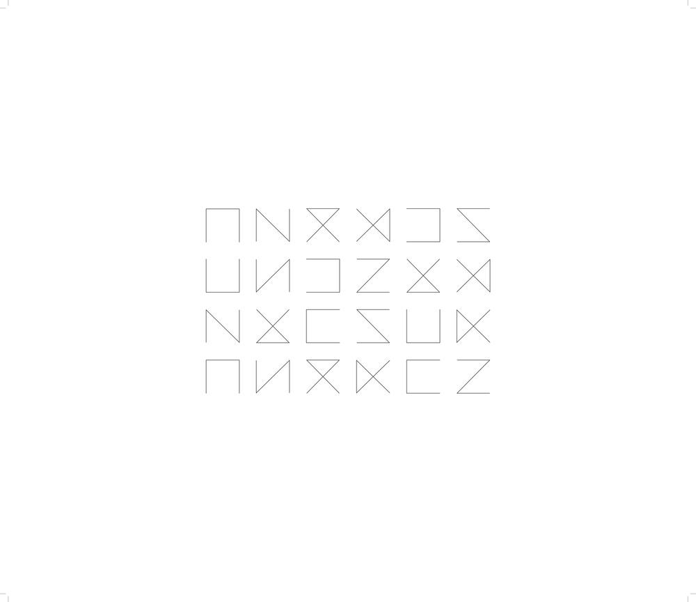 Marion Wintrebert artiste poster règles du jeu 24 possibles combinaisons formes