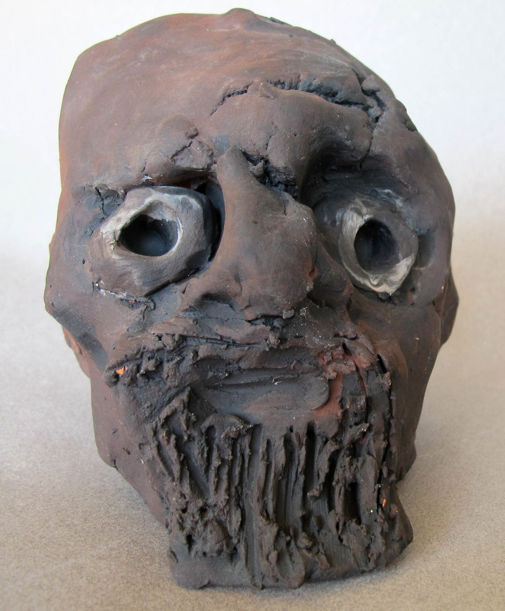 OLD MAN, FRONT VIEW